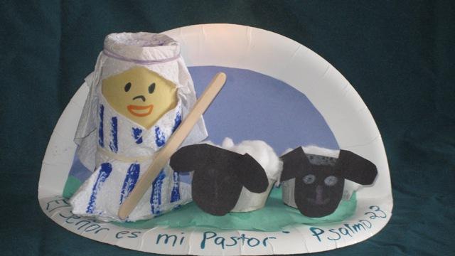 El pastor y sus ovejitas
